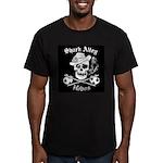 Shark Alley Hobos Men's Fitted T-Shirt (dark)