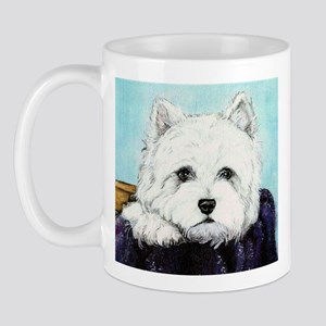 Basket Case Westie Mug