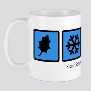 Four Seasons in Buffalo, NY Mug
