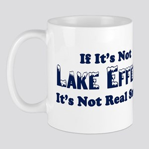 If its not lake effect, its not real snow Mug