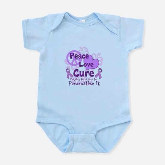 Purple Peace Love Cure Body Suit