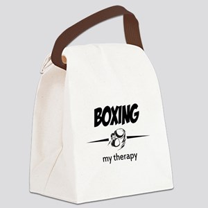Boxing my therapy Canvas Lunch Bag