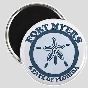 Fort Myers - Sand Dollar Design. Magnet