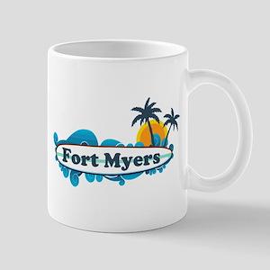 Fort Myers - Surf Design. Mug