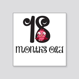18 Months Old Baby Bird Sticker