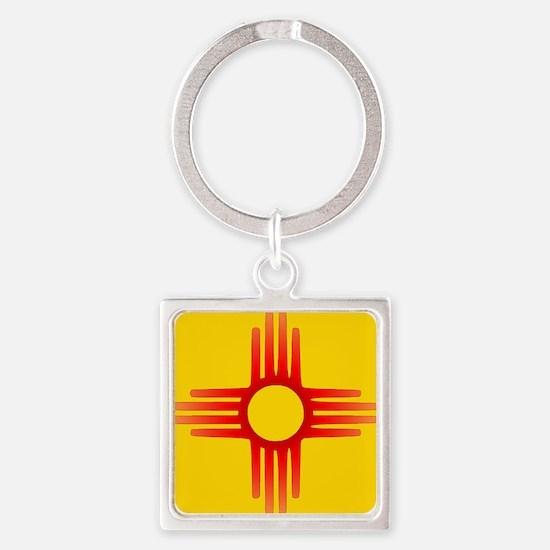 Zia Sun Symbol Keychains