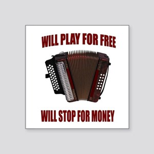 ACCORDION FUN Sticker