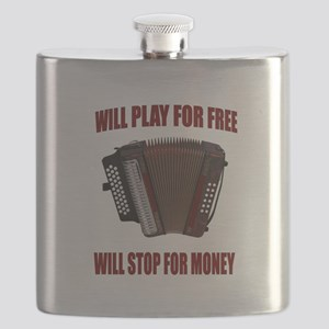ACCORDION FUN Flask