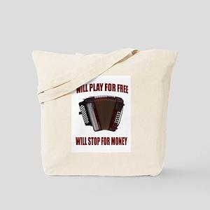 ACCORDION FUN Tote Bag
