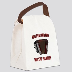 ACCORDION FUN Canvas Lunch Bag