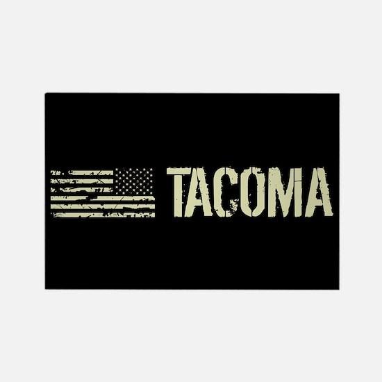 Black Flag: Tacoma Rectangle Magnet