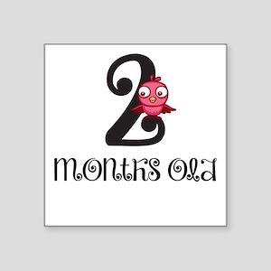 2 Months Old Birdie Baby Milestone Sticker