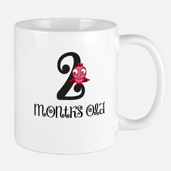 2 Months Old Birdie Baby Milestone Mug