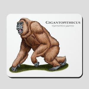 Gigantopithecus Mousepad