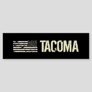 Black Flag: Tacoma Sticker (Bumper)