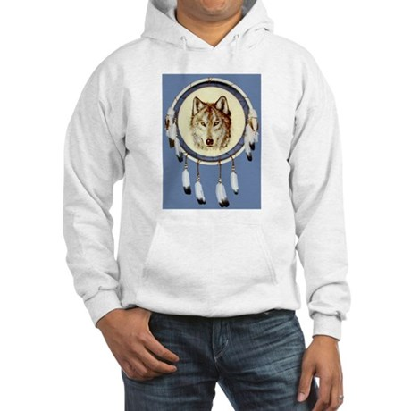 Wolf Shield Hooded Sweatshirt
