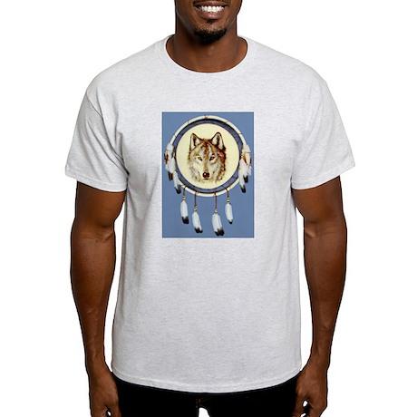 Wolf Shield Ash Grey T-Shirt