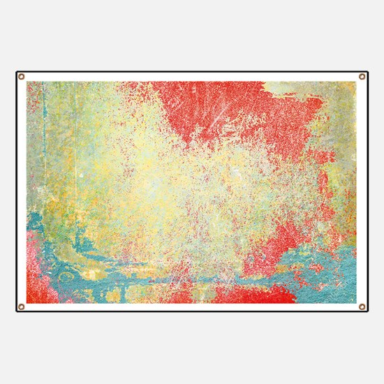 VINTAGE WALL DISTRESSED Banner