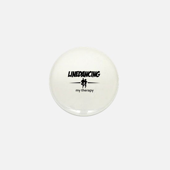Linedancing my therapy Mini Button (10 pack)