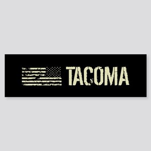 Black Flag: Tacoma Sticker (Bumper)