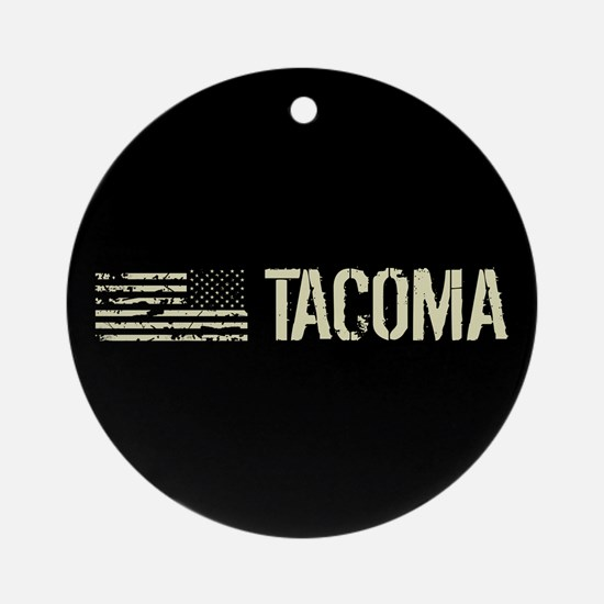 Black Flag: Tacoma Round Ornament