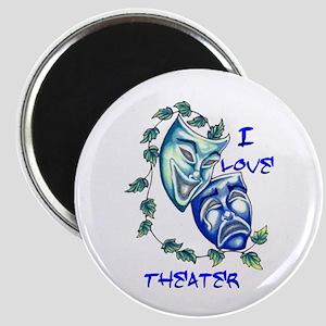 Ilove Theater Magnet