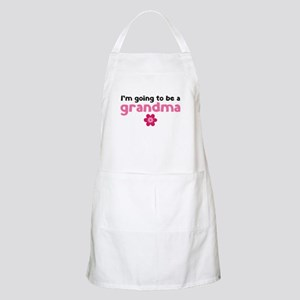 I'm going to be a grandma Apron