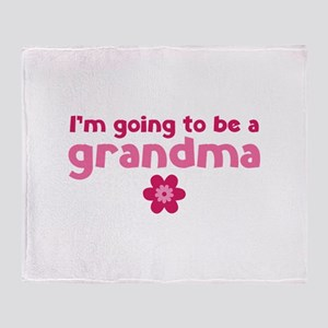 I'm going to be a grandma Stadium Blanket