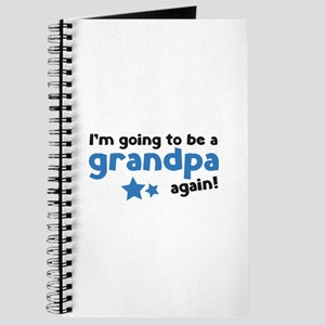I'm going to be a grandpa again Journal