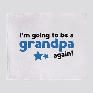 I'm going to be a grandpa again Stadium Blanket