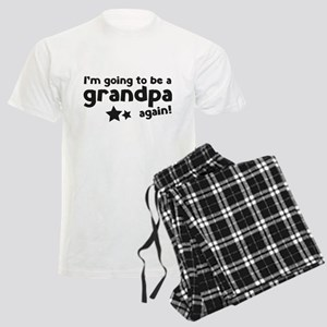 I'm going to be a grandpa again Men's Light Pajama