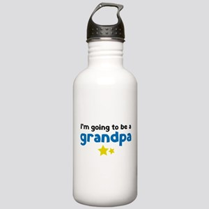 I'm going to be a grandpa Stainless Water Bottle 1