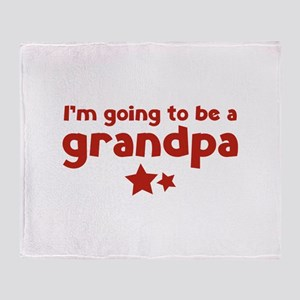 I'm going to be a grandpa Stadium Blanket