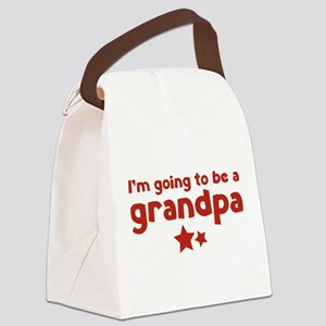 I'm going to be a grandpa Canvas Lunch Bag