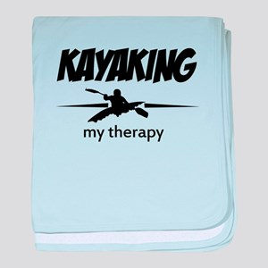 Kayaking my therapy baby blanket