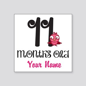 11 Months Old Baby Bird - Personalized Sticker