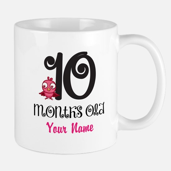 10 Months Old Baby Bird - Personalized Mug