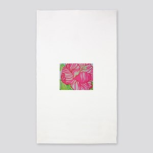 Hibiscus in Lilly Pulitzer 3'x5' Area Rug