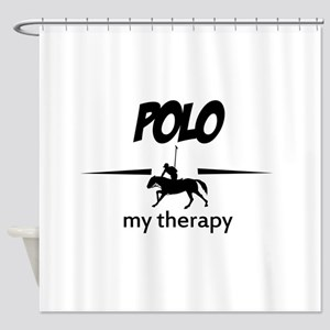 Polo my therapy Shower Curtain