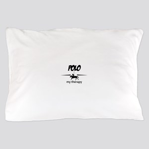 Polo my therapy Pillow Case