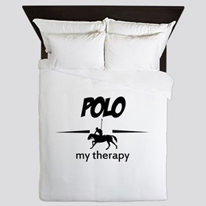 Polo my therapy Queen Duvet