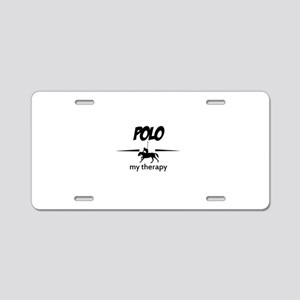 Polo my therapy Aluminum License Plate