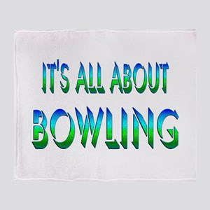 About Bowling Throw Blanket