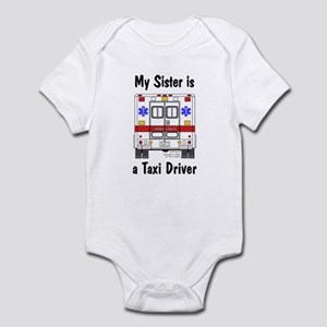 Taxi Driver Sister Infant Creeper