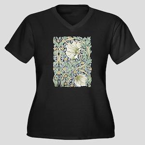 William Morris Pimpernel Design Plus Size T-Shirt
