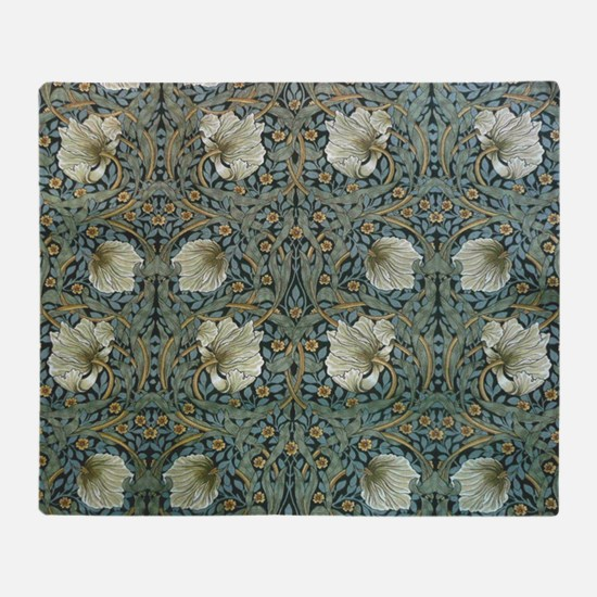Morris Pimpernel Detail Throw Blanket