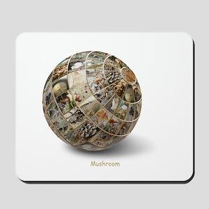 3D Mushroom Globe Mousepad
