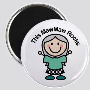 MawMaw Rocks Magnet