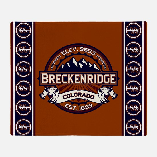 Breckenridge Vibrant Throw Blanket