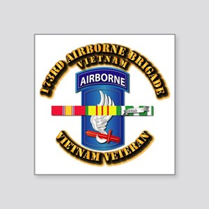 Army - 173rd Airborne Brigade w SVC Ribbons Square